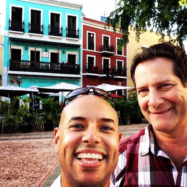 Thom and Micah San Juan square